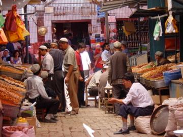 Market in Kashgar