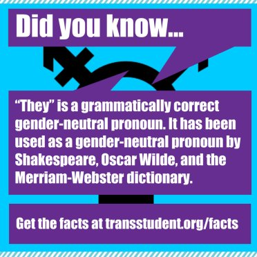 Trans Student Educational Resources: www.transstudent.org
