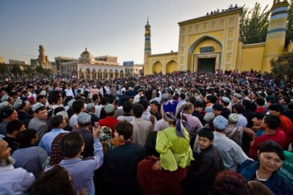 Id Kah Mosque in Kashgar, Photo: World Policy Blog
