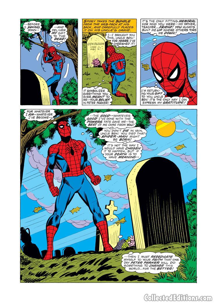 Ben Parker Grave Spider Man Ps4 : parker, grave, spider, Spiderman, Uncle, Grave