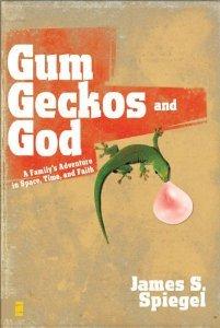 """Cover of """"Gum, Geckos, and God: A Family'..."""