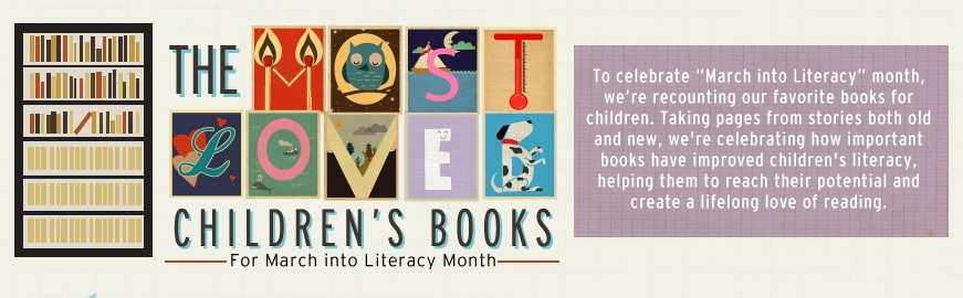 INFOGRAPHIC: MOST LOVED CHILDREN'S BOOKS