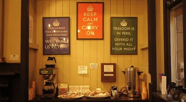 Video: Barter Books and the story of Keep Calm and Carry On
