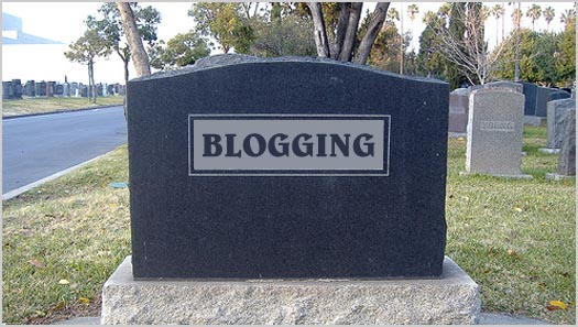 The slow death of a blog