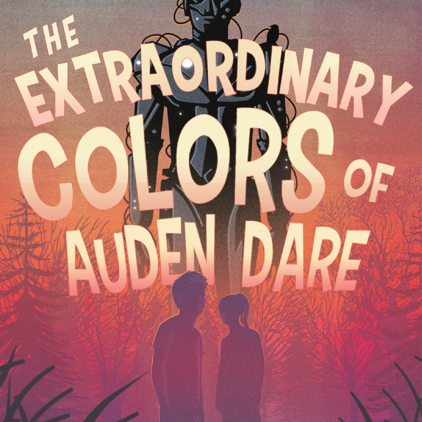 The Extraordinary Colors of Auden Dare by Zillah Bethell