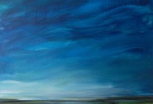wayward landscape painting clouds buying canadian art janet bright