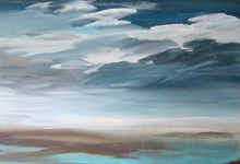 the clear lake acrylic painting video