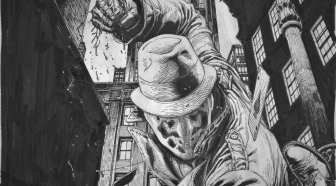 Doomsday Clock: ¿Rorschach vs the Joker?