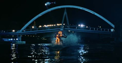 Ghost-Rider-riding-on-water