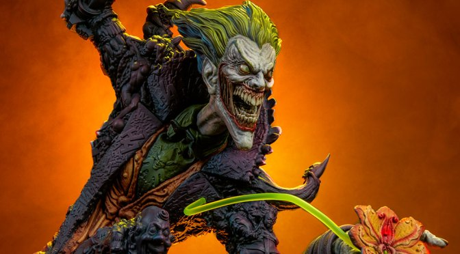 Comprar The Joker Gotham DC City Nightmare Sideshow en pagos y crédito