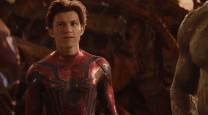 El director de Infinity War reveló que Tom Holland improvisó la escena final de la película