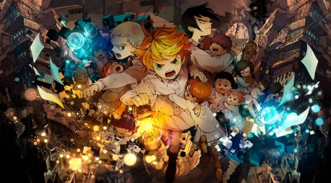 El manga The Promised Neverland tendrá adaptación  animada