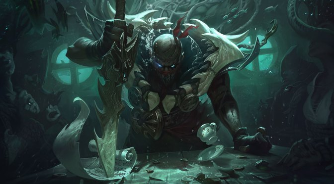 League of Legends: Pyke El Destripador del Muelle Rojo