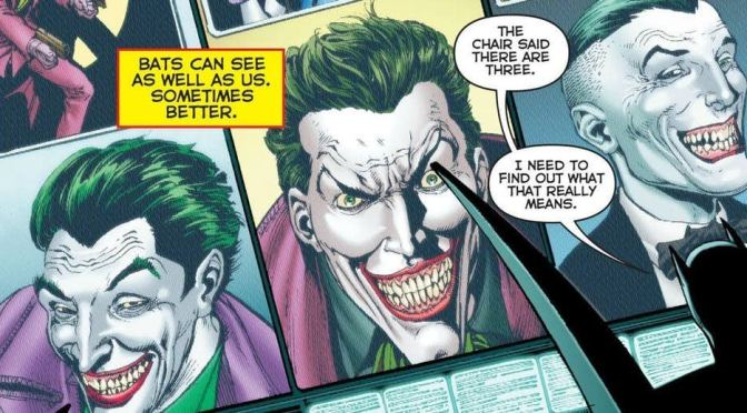 SDCC 18: Por fin tendremos respuestas sobre los tres Jokers en  Batman: Three Jokers