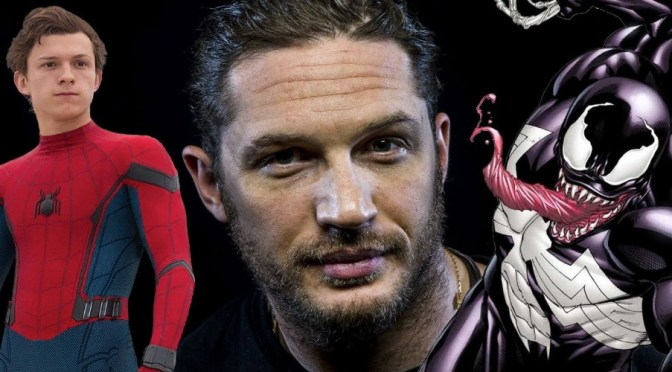 El actor de Venom Tom Hardy le encantaría enfrentarse al Spider-Man de Tom Holland