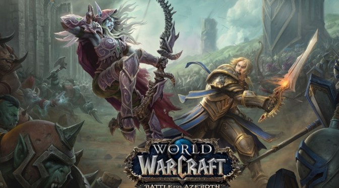 ¡Nuevo contenido de World of Warcraft:  Battle for Azeroth!