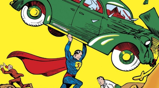 Action Comics recibe el récord Guinness mundial