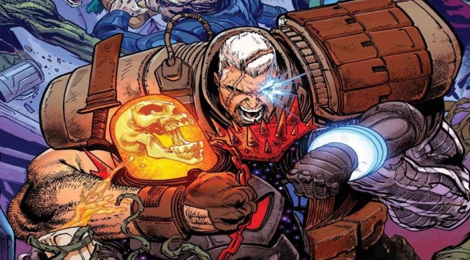 Marvel Comics nos muestra a los nuevos Guardians of the Galaxy de Cable