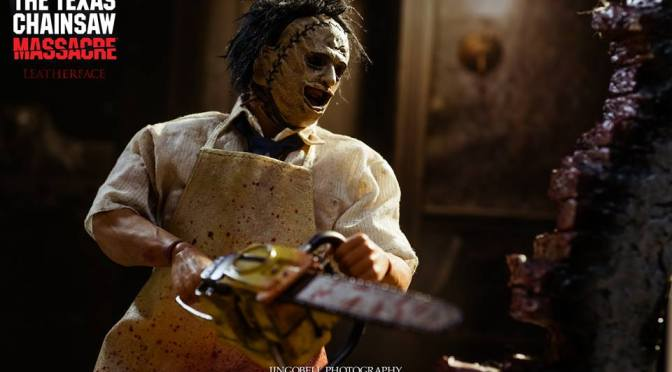 Texas Chain Saw Massacre 1/6 Leatherface de Threezero -Galería final de producto-