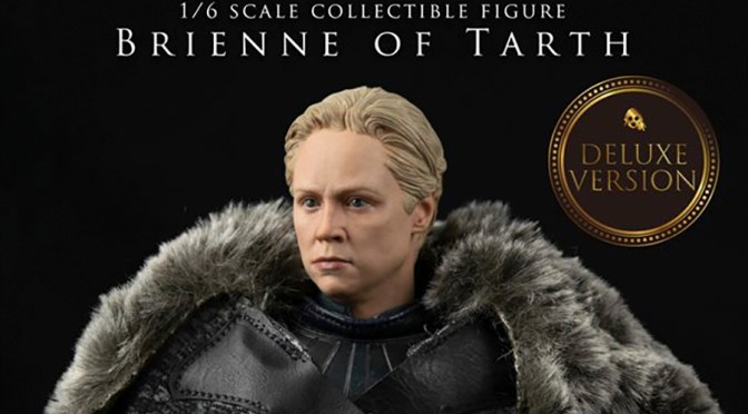Game of Thrones: La hermosa capa de Brienne of Tarth 1/6 por Threezero