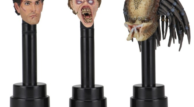 Available NOW: Action Figure Head Display Stands NECA eBay & Amazon Store
