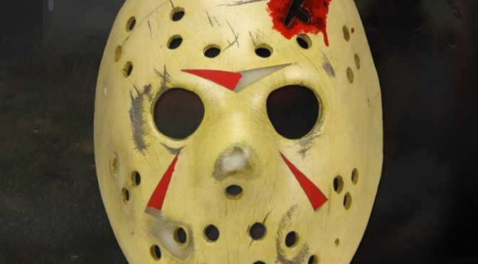 NECA Friday the 13th Prop Replica Part 4 Jason Mask Announced