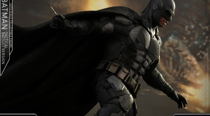 Shipping This Month Preorder Buy Hot Toys 1/6 DC Batman Tactical Batsuit Version
