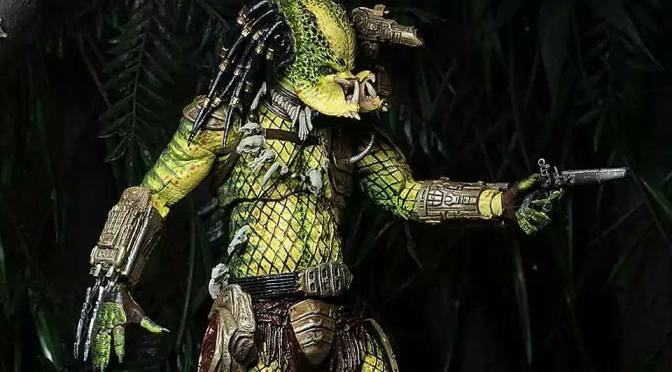 NECA nos da una pincelada de su Ultimate Elder: The Golden Angel, Predator 2