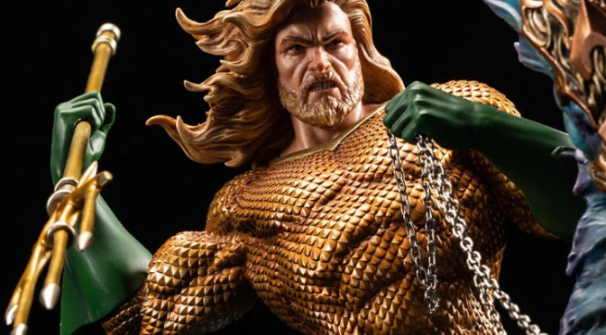 Preorder Now! XM Sixth Scale Statues Rebirth Series – Aquaman USA LATAM