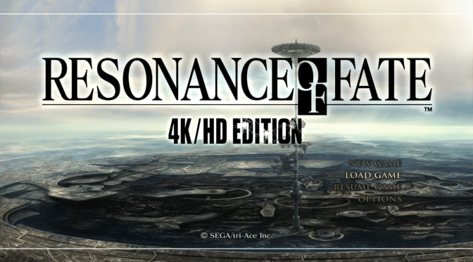 Primeras impresiones: Resonance of Fate HD/4k edition