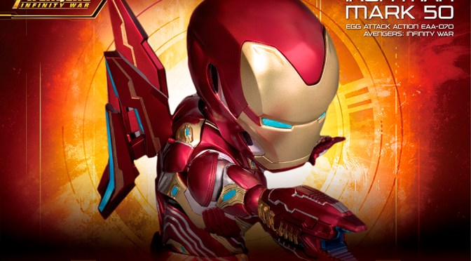 Preorder Egg Attack Action Avengers: Infinity War Iron Man Mark 50