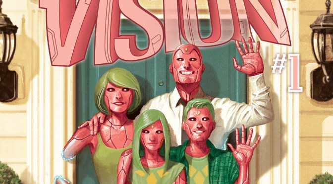 (C506) The Vision, el comic más humano de Marvel.