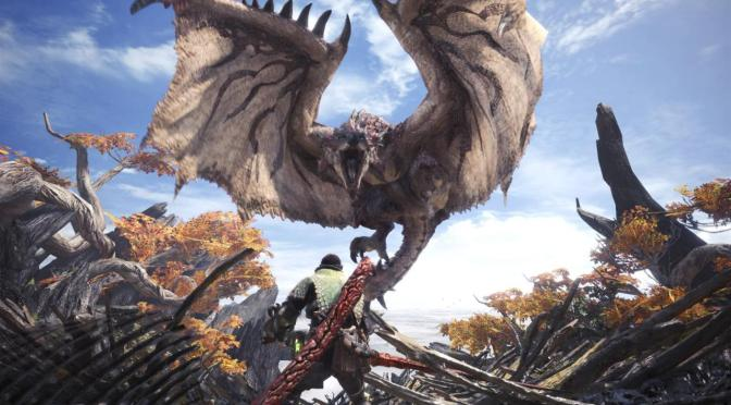There is a small surprise in Monster Hunter: World!!