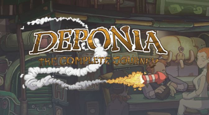 Free games: Deponia The complete journey gratis en humble bundle