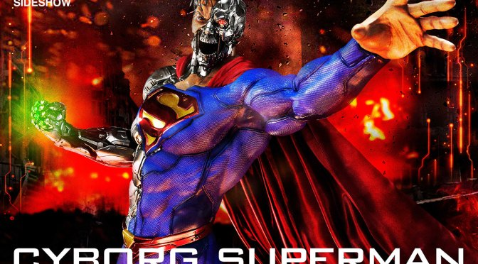 Prdeorder Now: Cyborg Superman Comics Statue Prime 1 Studio 1:3 Scale LATAM