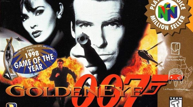 Retro Gaming: GoldenEye 007 N64