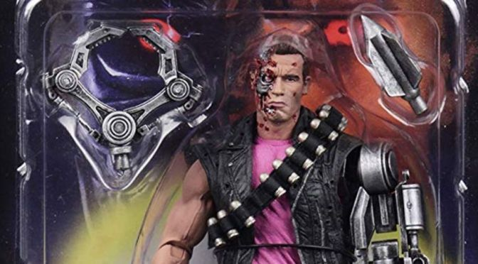 Now available Terminator 2 (T2) Kenner Tribute Power Arm T-800 by NECA