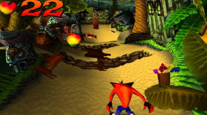 Retro Gaming: Crash Bandicoot PS1