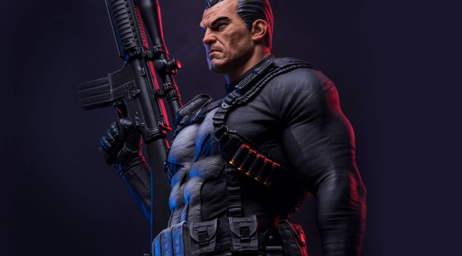Buy Now The Punisher Statue by Iron Studios Legacy Replica 1/4 Sideshow