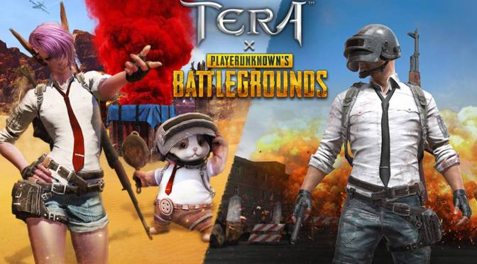 TERA x PUBG el evento del MMO dedicado al battle royale