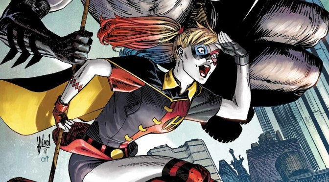 "(C506)  Reseña de Harley Quinn 58, A.K.A ""Somebody saaave mee""."