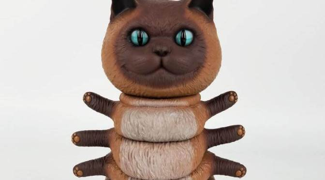 SIAMESE KITTYPILLAR TENACIOUS TOYS EXCLUSIVE BY CASEY WELDON X THREEA