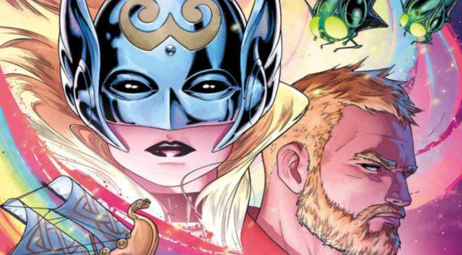 "The Mighty Thor, Vol. 3 ""La guerra Asgard/Shiar"", enfrentamiento de deidades"