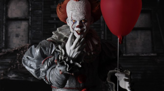 IT(2017) – 1/4 Scale Action Figure – Pennywise (Bill Skarsgard)