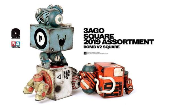 3AGO BOMB V2 Square Set pre-orders are now available