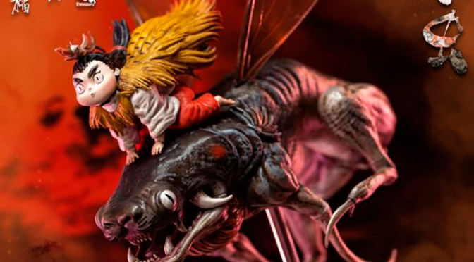 "ThreezeroHK: Pre-orders for Zao Dao ""Little Bugs"" collectible statue – Available Now"