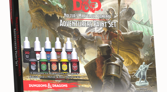 WIZKIDS PARTNERS WITH VALLEJO, ANNOUNCES UPCOMING WIZKIDS PAINT LINE