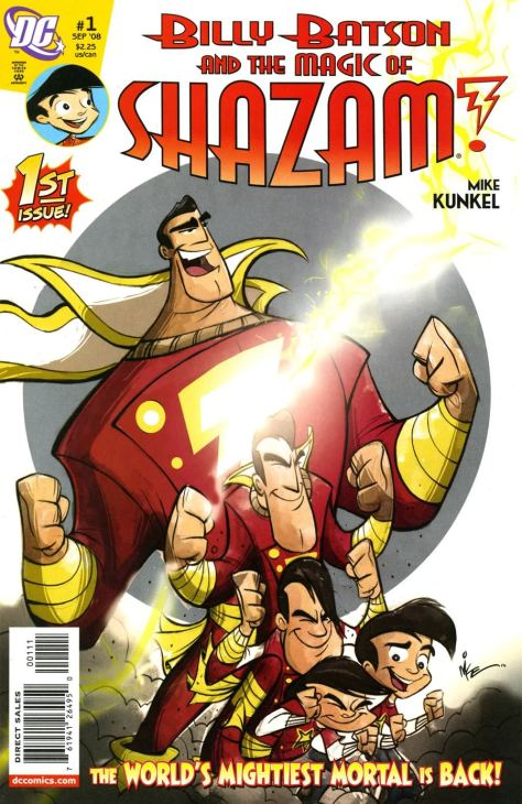 Billy Batson and the Magic of Shazam N01