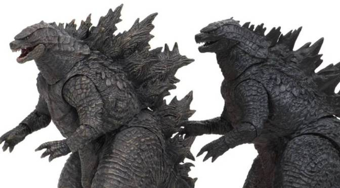 Official NECA Godzilla 2019 Figure Packaging Revealed