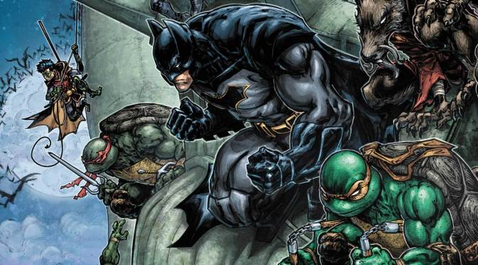 Mira el primer trailer de la película animada de Batman vs. Teenage Mutant Ninja Turtles